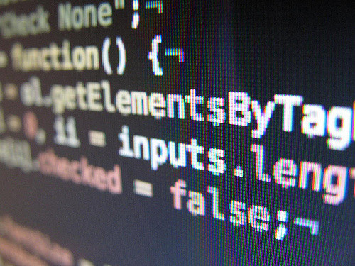 Code informatique et web