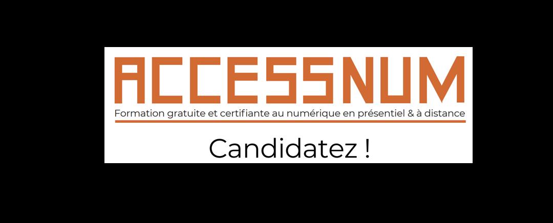 Nouvelle promotion Accessnum pour Les jeunes intéressés