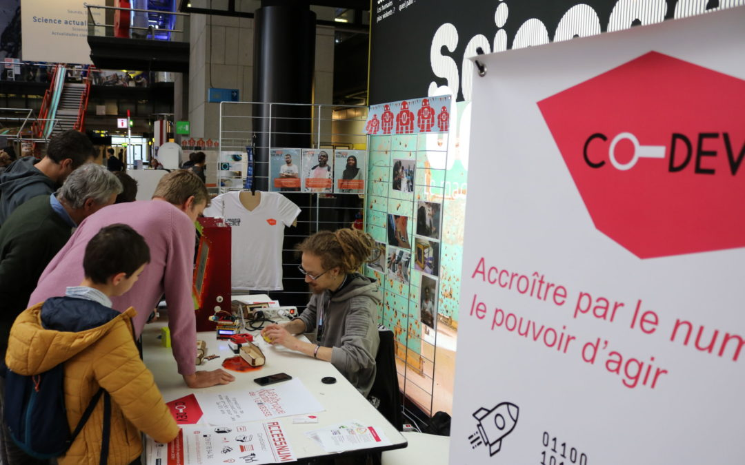 Vidéo : Co-dev à la Maker Faire Paris 2018