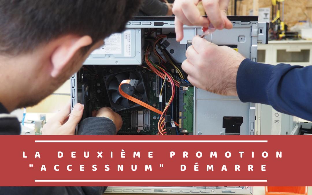 La deuxième promotion «Accessnum» démarre