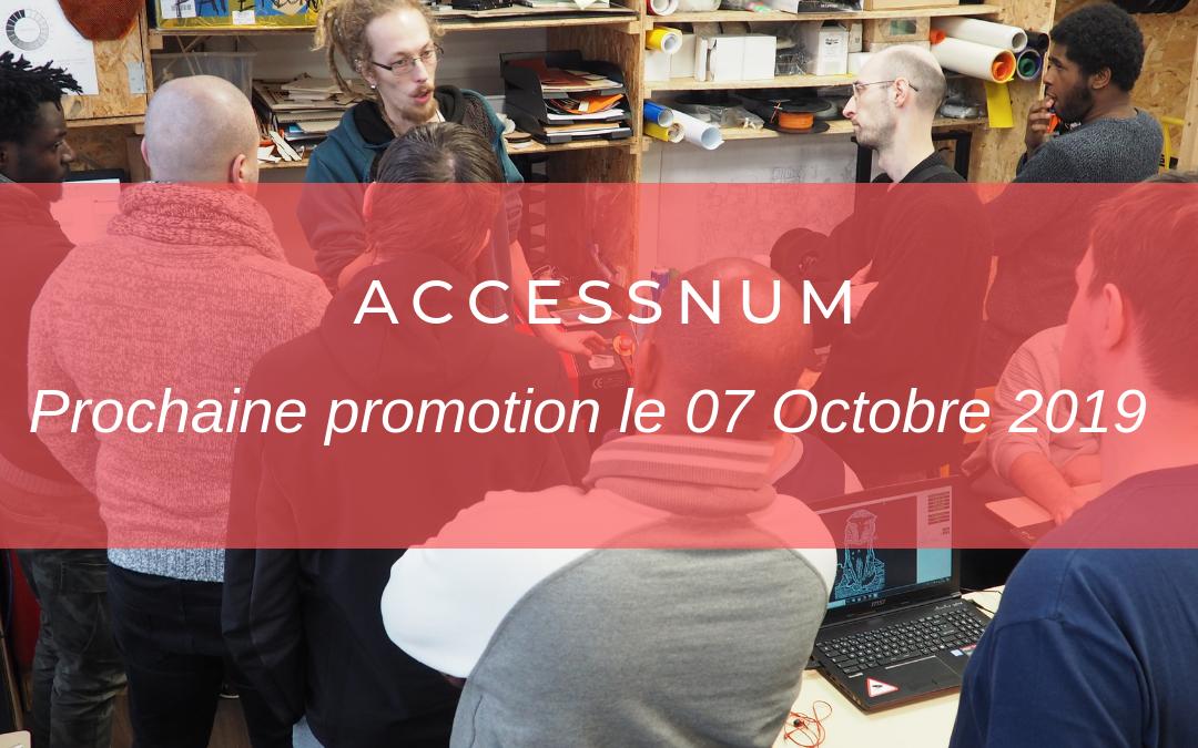 Accessnum : ouverture du recrutement pour la 4e promo